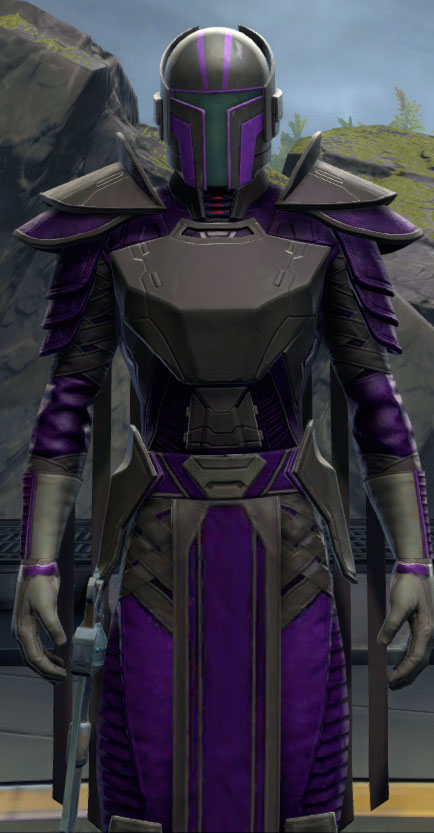 SWTOR Deep Gray and Dark Purple Dye Module