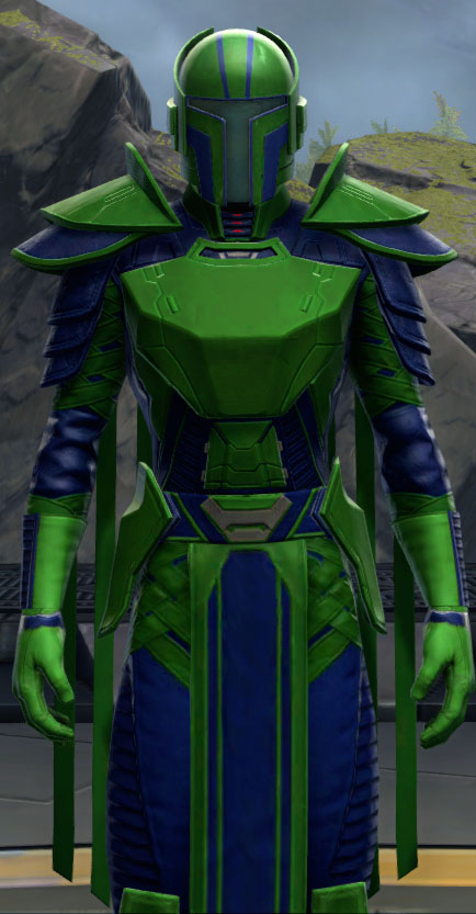 SWTOR Deep Green and Dark Blue Dye Module
