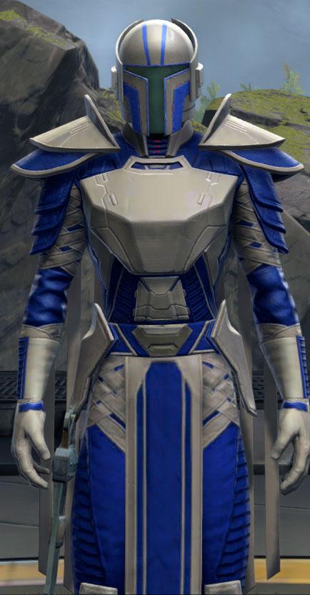 SWTOR Light Gray and Deep Blue Dye Module