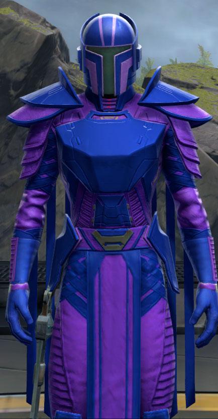 SWTOR Medium Blue and Medium Purple Dye Module