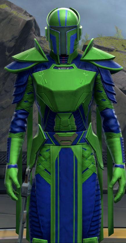SWTOR Medium Green and Deep Blue Dye Module