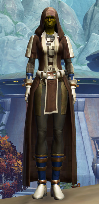 Ablative Lacqerous Armor Set Outfit from Star Wars: The Old Republic.