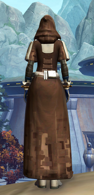 Ablative Lacqerous Armor Set player-view from Star Wars: The Old Republic.