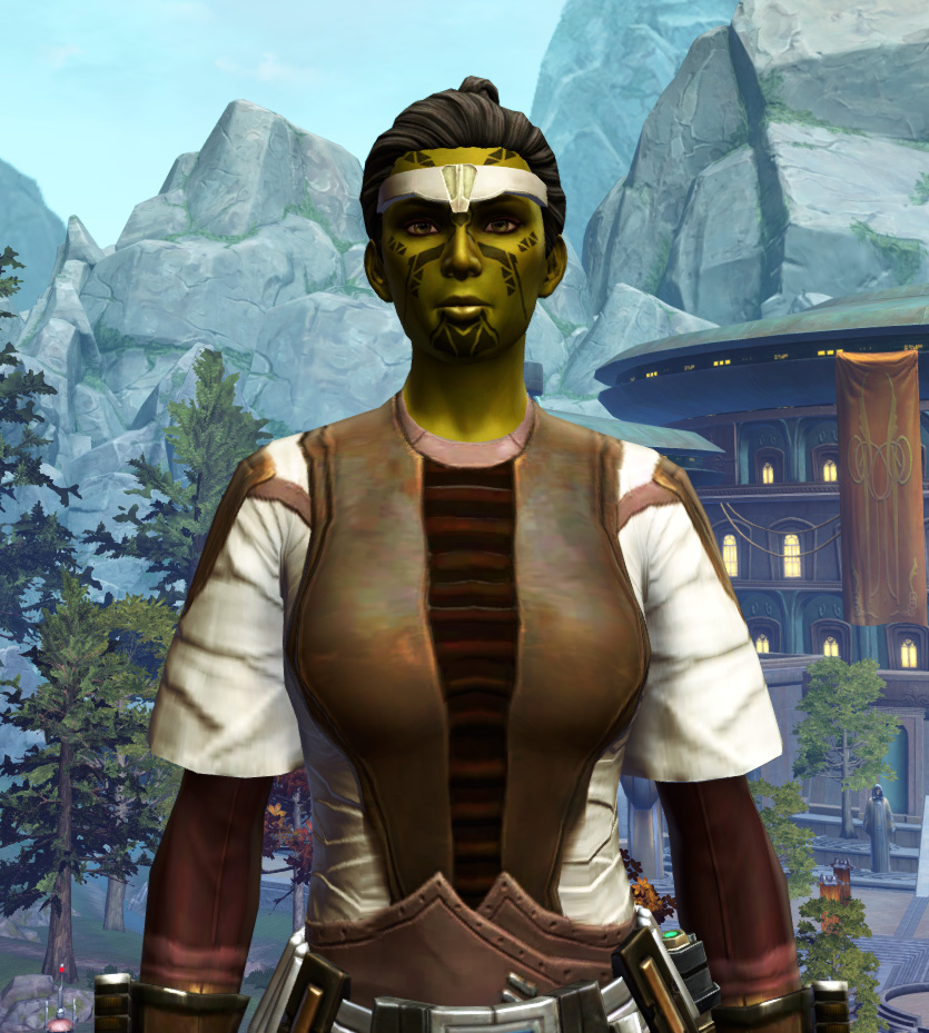 Ablative Plasteel Armor Set from Star Wars: The Old Republic.