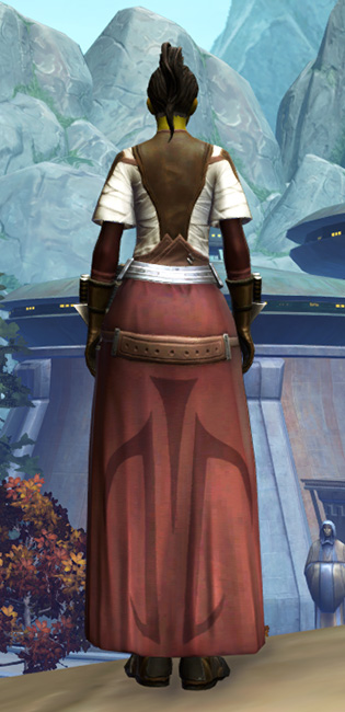 Ablative Plasteel Armor Set player-view from Star Wars: The Old Republic.