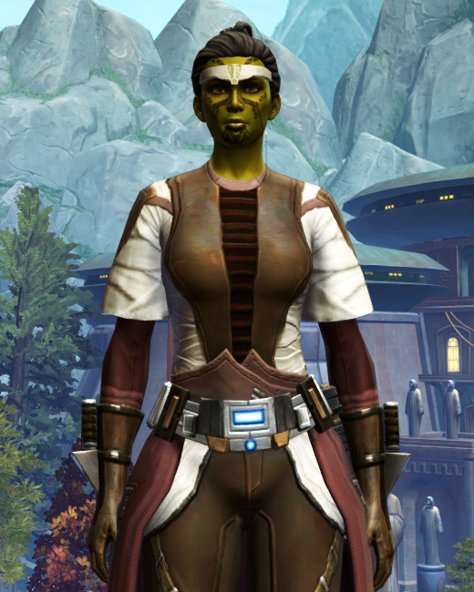 Ablative Plasteel Armor Set Preview from Star Wars: The Old Republic.