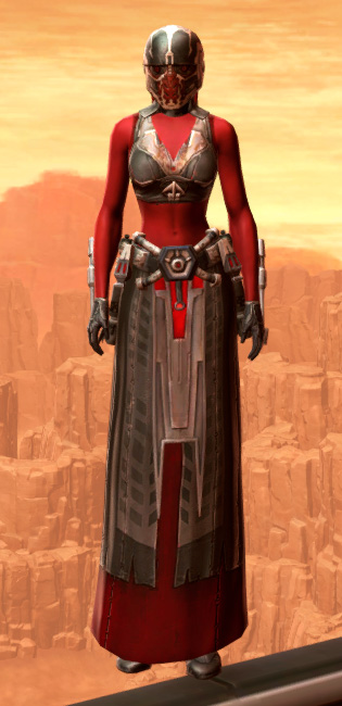 Ablative Resinite Armor Set Outfit from Star Wars: The Old Republic.