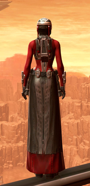 Ablative Resinite Armor Set player-view from Star Wars: The Old Republic.