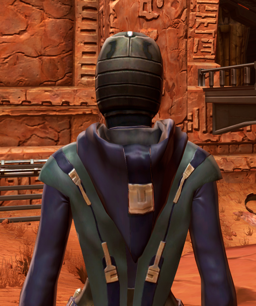 Acolyte Armor Set detailed back view from Star Wars: The Old Republic.