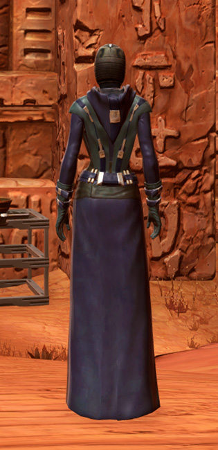 Acolyte Armor Set player-view from Star Wars: The Old Republic.
