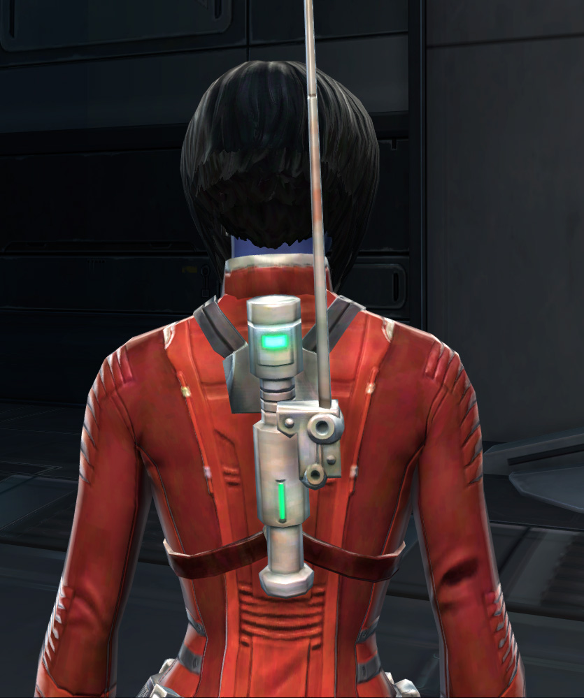 Adept Scout Armor Set detailed back view from Star Wars: The Old Republic.