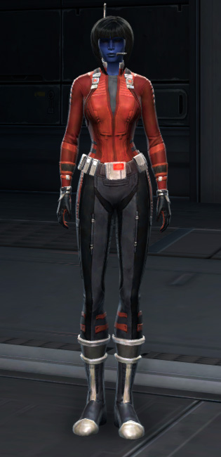 Adept Scout Armor Set Outfit from Star Wars: The Old Republic.