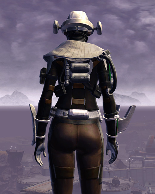 Advanced Slicer Armor Set Back from Star Wars: The Old Republic.