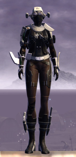 Advanced Slicer Armor Set Outfit from Star Wars: The Old Republic.