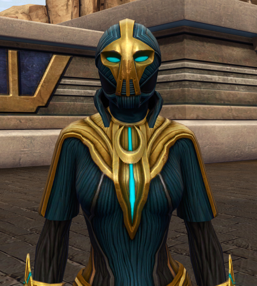 Aggressive Treatment Armor Set from Star Wars: The Old Republic.
