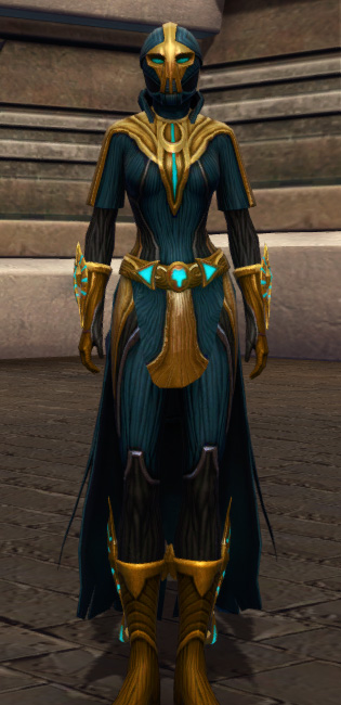 Aggressive Treatment Armor Set Outfit from Star Wars: The Old Republic.