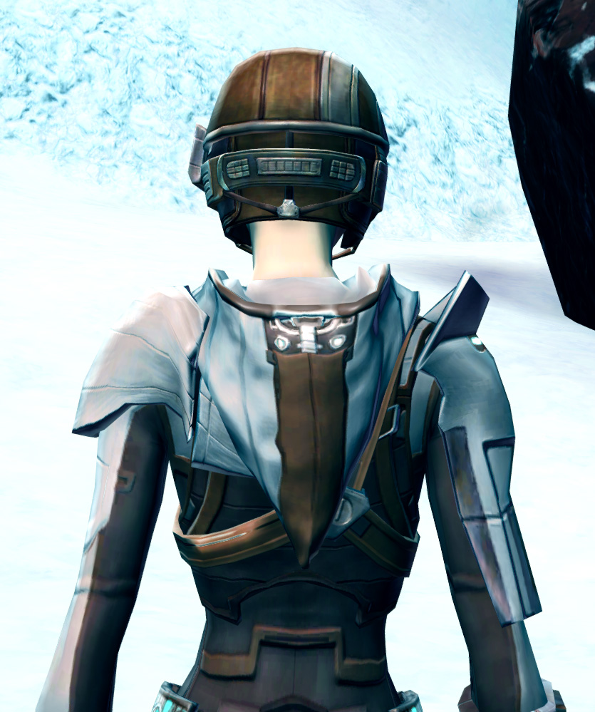Agile Sharpshooter Armor Set detailed back view from Star Wars: The Old Republic.