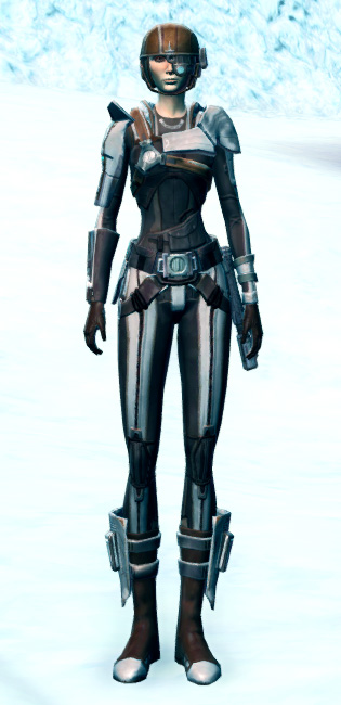 Agile Sharpshooter Armor Set Outfit from Star Wars: The Old Republic.