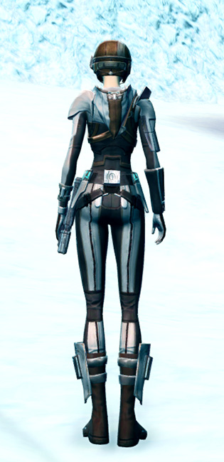 Agile Sharpshooter Armor Set player-view from Star Wars: The Old Republic.
