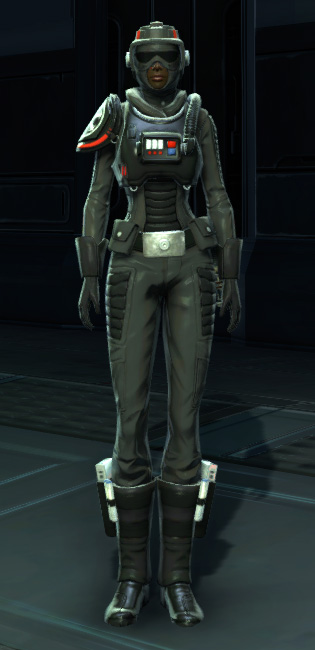 Alliance Reconnaissance Armor Set Outfit from Star Wars: The Old Republic.