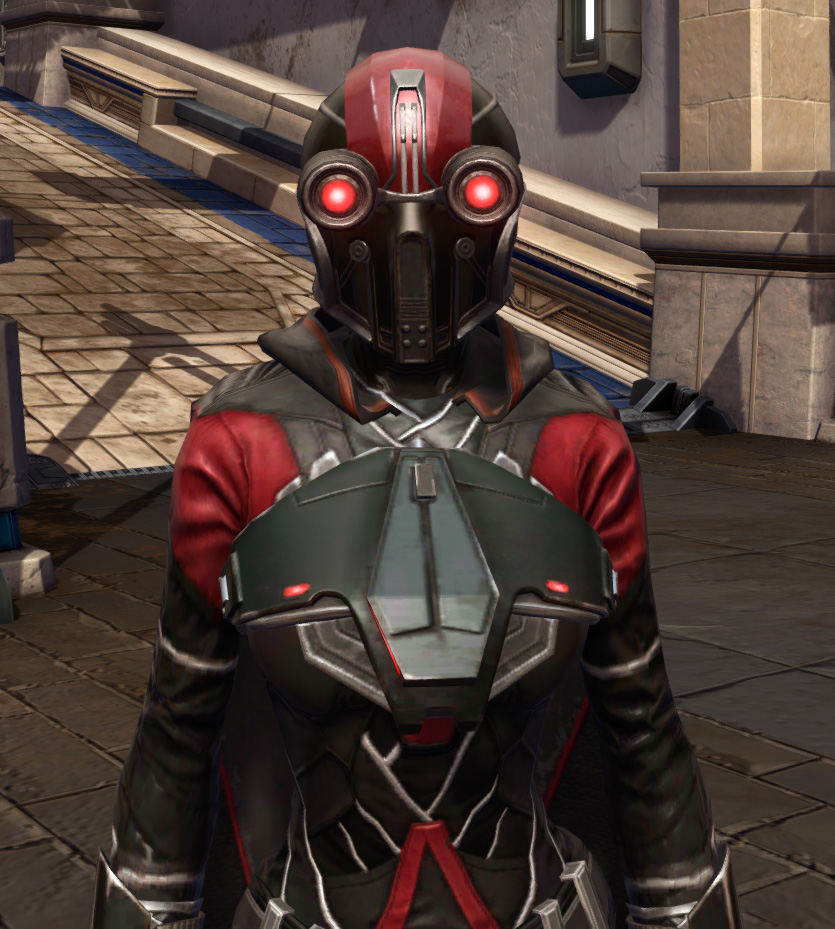 Masterwork Ancient Force-Master Armor Set from Star Wars: The Old Republic.