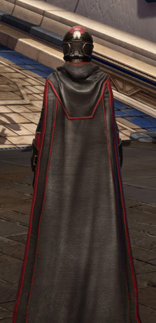 Masterwork Ancient Force-Master Armor Set player-view from Star Wars: The Old Republic.