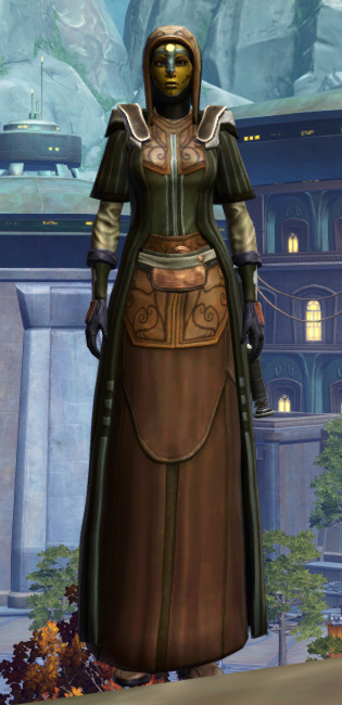 Anointed Demicot Armor Set Outfit from Star Wars: The Old Republic.