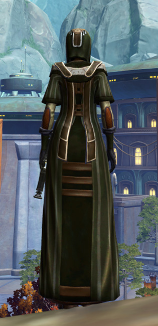 Anointed Demicot Armor Set player-view from Star Wars: The Old Republic.