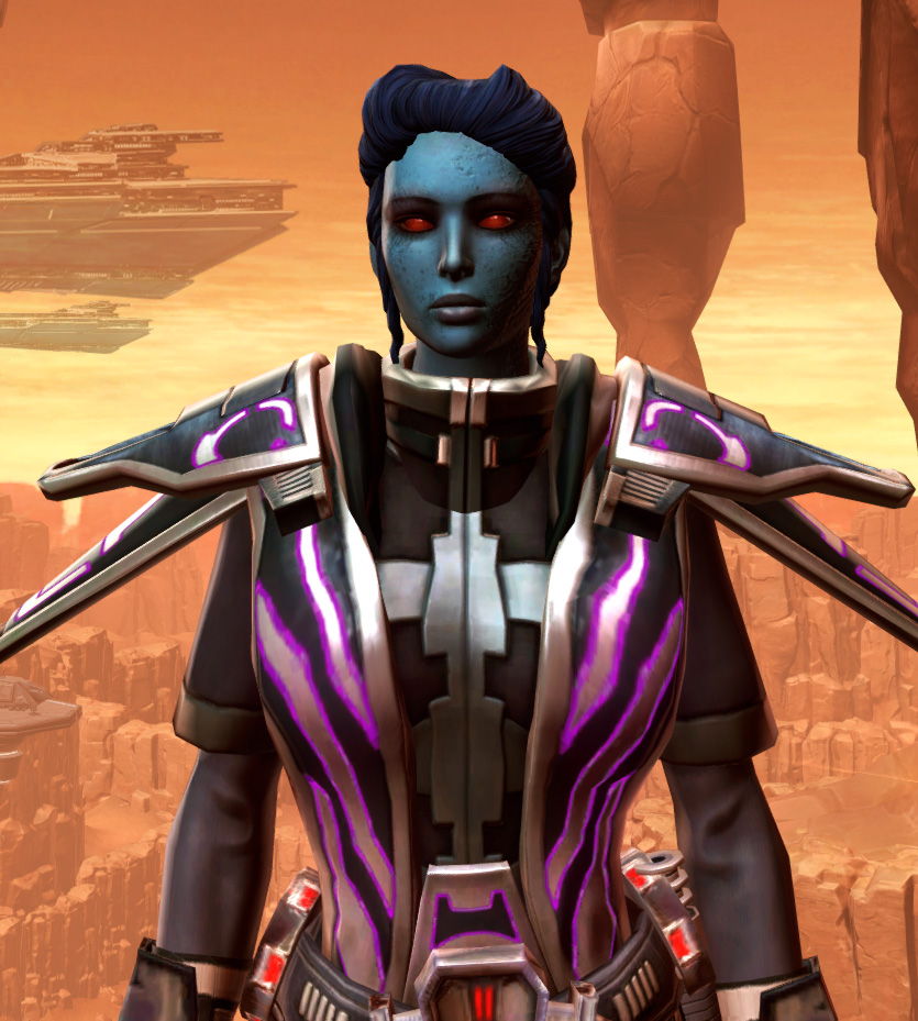 Anointed Zeyd-Cloth Armor Set from Star Wars: The Old Republic.