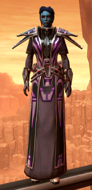 Anointed Zeyd-Cloth Armor Set Outfit from Star Wars: The Old Republic.