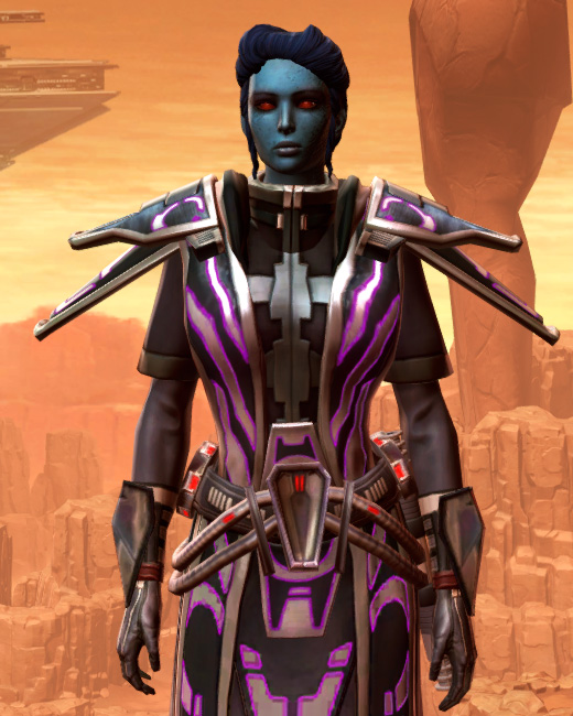 Anointed Zeyd-Cloth Armor Set Preview from Star Wars: The Old Republic.