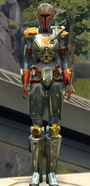 Apex Predator Armor Set Outfit from Star Wars: The Old Republic.