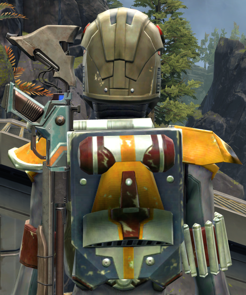 Apex Predator Armor Set detailed back view from Star Wars: The Old Republic.