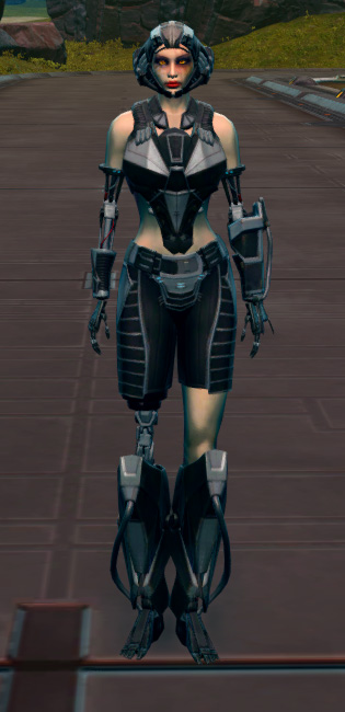 B-100 Cybernetic Armor Set Outfit from Star Wars: The Old Republic.