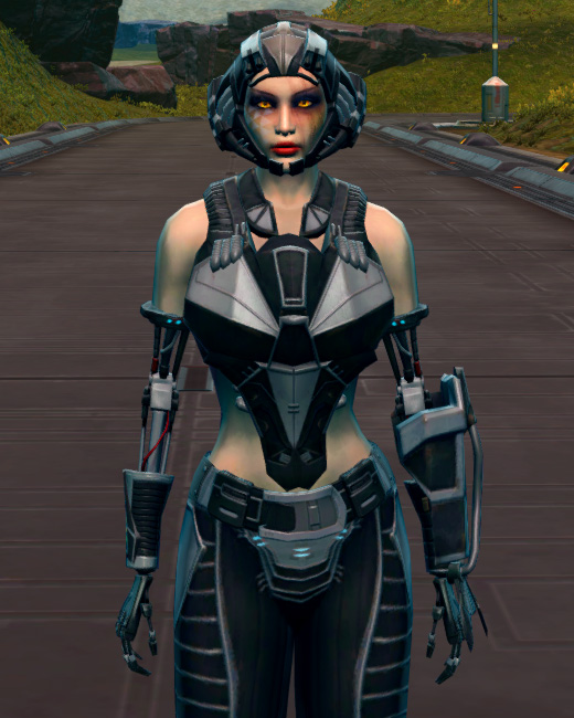 B-100 Cybernetic Armor Set Preview from Star Wars: The Old Republic.