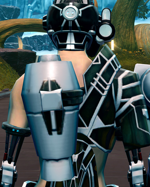 B-200 Cybernetic Armor Set Back from Star Wars: The Old Republic.