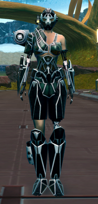 B-200 Cybernetic Armor Set Outfit from Star Wars: The Old Republic.