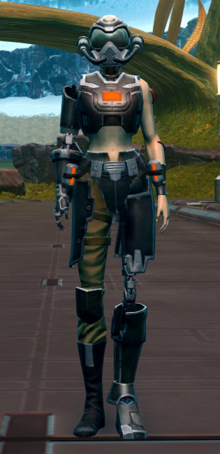 B-400 Cybernetic Armor Set Outfit from Star Wars: The Old Republic.