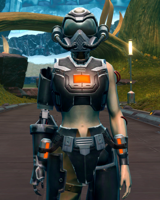 B-400 Cybernetic Armor Set Preview from Star Wars: The Old Republic.