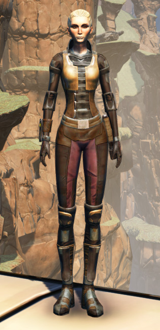 Balmorran Resistance Armor Set Outfit from Star Wars: The Old Republic.
