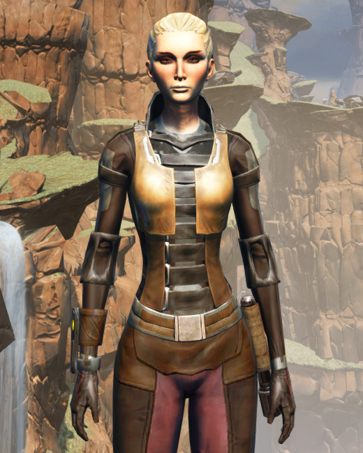 Balmorran Resistance Armor Set Preview from Star Wars: The Old Republic.