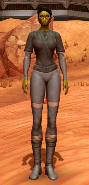 Bantha Hide Armor Set Outfit from Star Wars: The Old Republic.