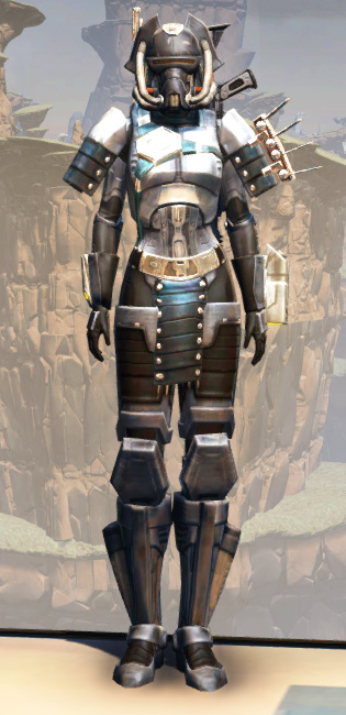 Battlemaster Eliminator Armor Set Outfit from Star Wars: The Old Republic.