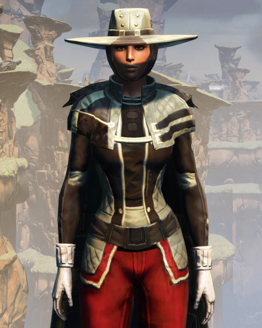 Battlemaster Field Tech Armor Set Preview from Star Wars: The Old Republic.