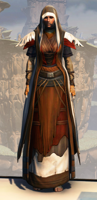 Battlemaster Force-Mystic Armor Set Outfit from Star Wars: The Old Republic.