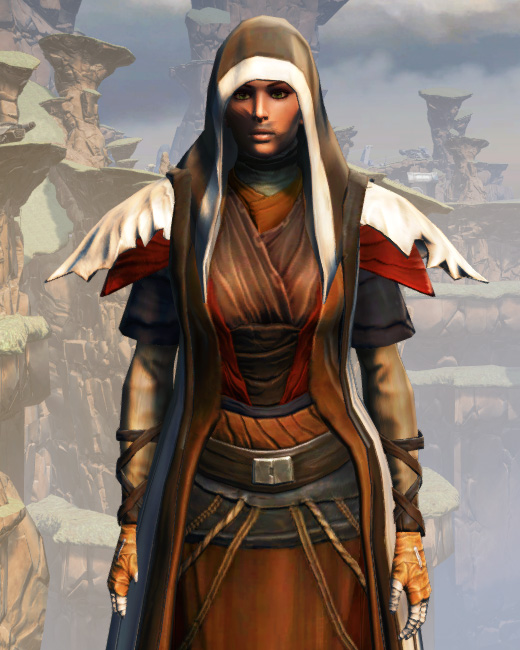 Battlemaster Force-Mystic Armor Set Preview from Star Wars: The Old Republic.