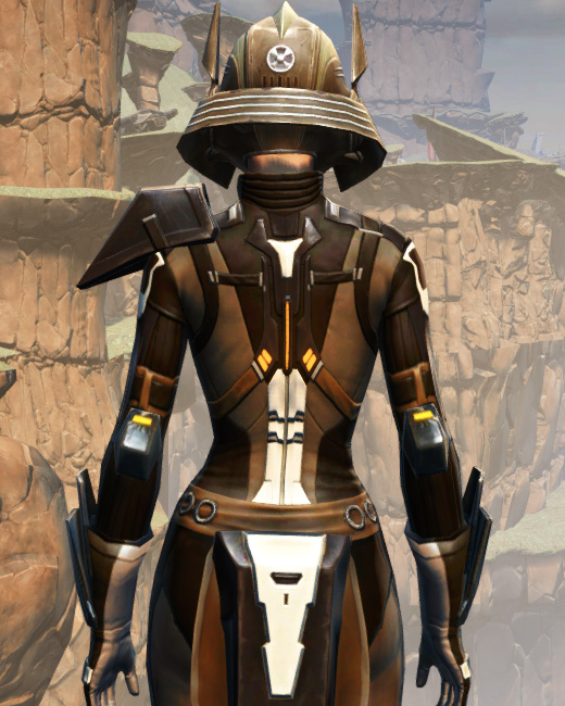 Battlemaster War Leader Armor Set Back from Star Wars: The Old Republic.