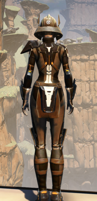 Battlemaster War Leader Armor Set player-view from Star Wars: The Old Republic.