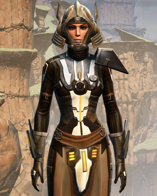 Battlemaster War Leader Armor Set Preview from Star Wars: The Old Republic.