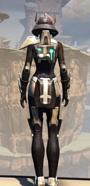 Battlemaster Weaponmaster Armor Set player-view from Star Wars: The Old Republic.